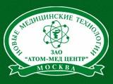 Логотип АТОМ-МЕД ЦЕНТР, ЗАО