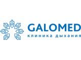 Логотип Галомед, клиника дыхания